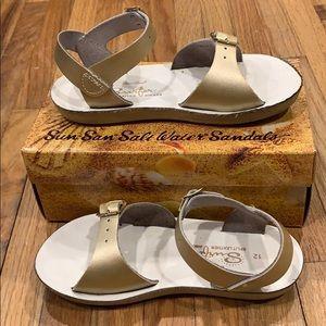 VGUC Sun-San Saltwater Surfer Sandals for Girls